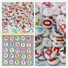 Chalk White 16mm Round Buttons Sewing Craft Knitting 2 Hole 4 Per Card