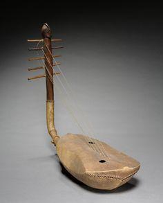 Mangbetu Domu Harp, DR Congo
