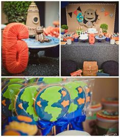 Little Big Planet themed birthday party via Kara's Party Ideas KarasPartyIdeas.com Printbles, invitation, decor, cake, cupcakes, games, and more! #littlebigplanet #littlebigplanetparty (2)