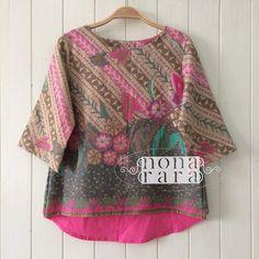 B041006 - IDR265.000 Bustline : 98cm ( L ) Fabric: Batik Dobi Solo