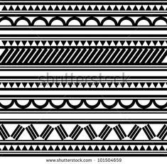 Maori / Polynesian Style tattoo