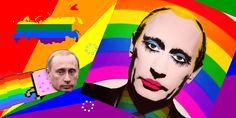 Sur le web russe, les caricatures queer de Poutine sont désormais illégales