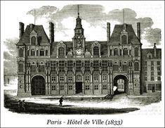Paris – Hôtel de Ville (1833) | Bibliotec – À la française … 2