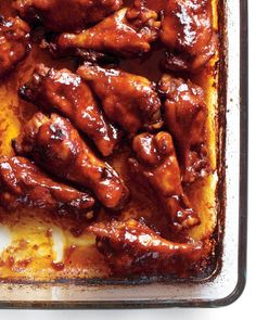 Sriracha-Glazed Chicken Make-Ahead Appetizers - Martha Stewart recipe -- use thighs if making recipe for dinner