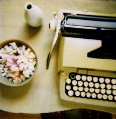 typewriter by bricolagelife, via Flickr