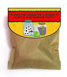 mad scientist party supplies | Mad Science Party Games, Ideas, Invitations, and party supplies
