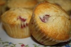 White Chocolate&Raspberry Muffins