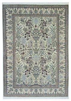 Nain 6la Handgeknüpft woll silk Perser  300 x 200  ,orientteppich orient carpet