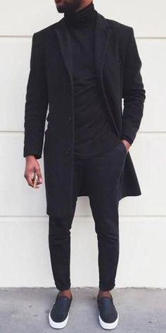 Black Men Coat Winter Business leisure street shooting and casual coats for men, plus size and soild colors you will Best Mens Fashion, Mens Fashion Suits, Men's Fashion, Fashion Outfits, Black Men Winter Fashion, Fashion Deals, Fashion Boots, Street Fashion, Fashion Trends