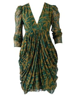 Antik Batik super draped dress.