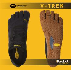 The Vibram Fivefingers V-Trek trekking and walking allow your feet to move like they are barefoot. Open up a whole new walking experience with this shoe that is designed to the shape of your foot for a more natural feel anmd fit. Wrap Shoes, Toe Shoes, Vibram Furoshiki, Mens Onesie, Vibram Fivefingers, Barefoot Running, Minimalist Shoes, Trekking, Walking