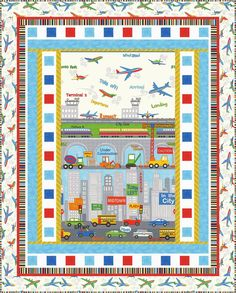 Sew in Love {with Fabric}: Day 6: Holiday Gift Blog Hop: Today Wendy from Ivory Spring is here, sharing a sweet security blanket using the adorable City Construction prints.