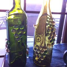 Wine Bottle Lights - Love how these are coming along!
