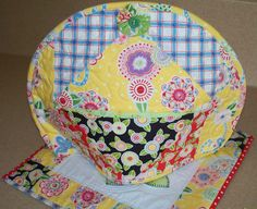 Made by Me in Red: Mary Engelbreit Fabric Tea Cozy