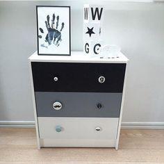 mommo design: 8 stylish ikea hacks for kids. Ikea Nursery, Baby Nursery Diy, Baby Boy Rooms, Ikea Furniture Hacks, Kids Furniture, Ikea Hack Kids, Ikea Hacks, Tv Decor, Kids Decor