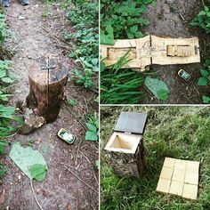 A multi-cache with 2 stages with 2 puzzle to solve to find the coordinates of the final box! Good job and nice geocache ! #geocaching #geocache #puzzle #PF