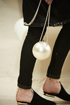 Chanel 2015 pearl hand bag! AKA'S everywhere are going to love this.