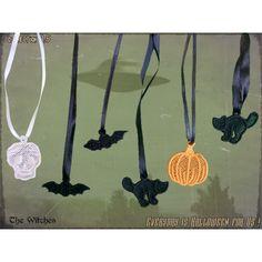 L'invasion des petites bestioles d'Halloween commence ! parfait à accrocher à vos fenêtres, sur vos autels, dans votre manoir hanté !