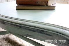 Teal Green Coffee Table by Herd2Herd on Etsy, $179.00
