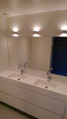 Naadloze badkamers en voegloze badkamers | badkamer | Pinterest ...