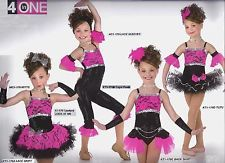 LOOK AT ME Mix -N- Match Tap Jazz Ballet Tutu Dance Costume Showgirl CXS-2XL