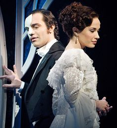 Love Never Dies Original Phantom (Ramin Karimloo) and Christine (Sierra Boggess). Ramin Kaeimloo will be my husband some day! I just know it!