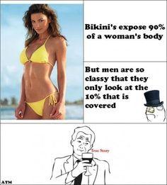 True story about bikinis xD lol