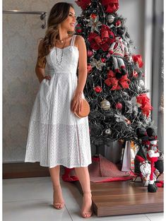 Vestido Glam Genova Off White Casual Dresses, Fashion Dresses, Summer Dresses, Pretty Outfits, Cute Outfits, Summer Maternity Fashion, Vestido Casual, Skirt Outfits, Indian Outfits