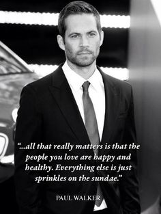 Paul Walker the definition of for ever HOT!!!