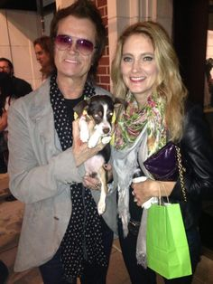 Gabi and Me @ the Amanda Foundation Animal rescue gala in Beverly Hills. And lil' Lulu !!