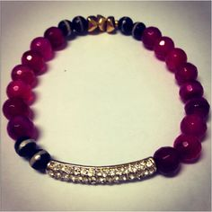 Purple crystal - $28