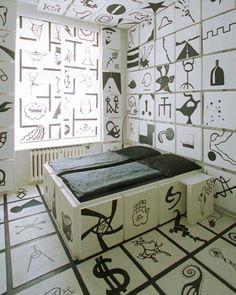 The Propeller Island City Lodge. Hotel in Berlin, Germany. Decor: German Artist Lars Stroschen.