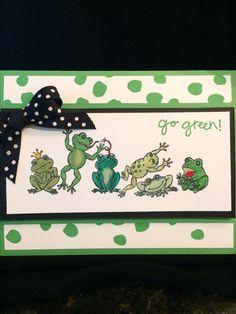 Heartfelt Creations winking frogs #heartfeltcreations