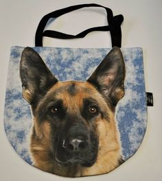 #PerfectChristmasGift Cute durable 3D Handbag with unique German Shepherd pattern – Limitless Bags UK