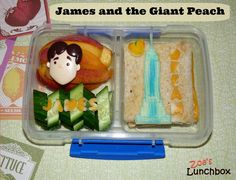 James and the Giant Peach Bento