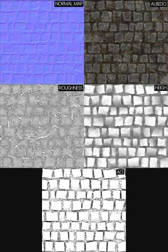 ArtStation - Cobble Stone_Substance Designer, Romain Pommier