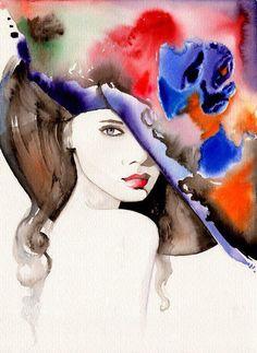 Kai Fine Art is an art website, shows painting and illustration works all over the world. Richard Burlet, Modern Art, Contemporary Art, Art Design, Art World, Love Art, Female Art, Watercolor Paintings, Art Paintings