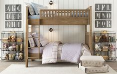 Looking at bunk beds for the kids. Getting ideas.