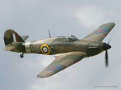 Hawker Hurricane; forgotten WWII hero. It was a decisive factor during the battle of Britain and the whole conflict itself, but was always overshadowed by the better known Supermarine Spitfire.