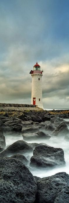 Lights Out by Timothy Poulton. Griffiths Island, Port Fairy, Victoria