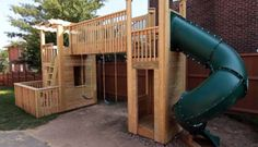 Build a Dream Outdoor Wood Playset
