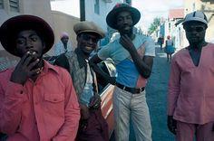 On the street, Kingston, Jamaica: