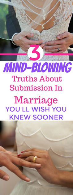 Totally LOVED these 3 Christian truths about submission in marriage! I'm SO glad I found them! These Christian truths can totally help any marriage in the world! Submission in marriage as a Biblical wife can be SO great. Definitely pinning! #love #marriage #relationship #valentineideas