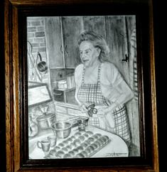 Pencil on paper portrait by John Gochenour My Friend, Pencil, Portraits, Paper, Drawings, Gifts, Painting, Art, Presents