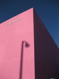 Paul Smith Melrose Avenue Los Angeles. -- Spring Inspo