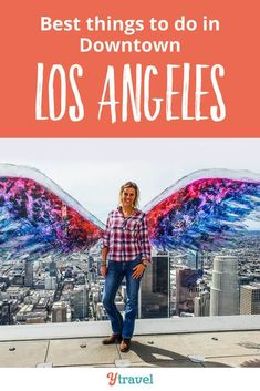 Downtown LA is a hip and happening place to travel to. Discover these amazing things to do in Downtown Los Angeles, including where to eat, drink and stay in LA. Travel to California at it's finest with opportunities to see the skyline, check out unique attractions, and explore. #California #LA #LosAngeles #traveltips #travel #DowntownLA