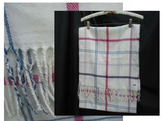 Tommy Hilfiger Plaid Winter Scarf  #TommyHilfiger #Scarf