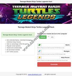 Ninja Turtles Legends Hack 2