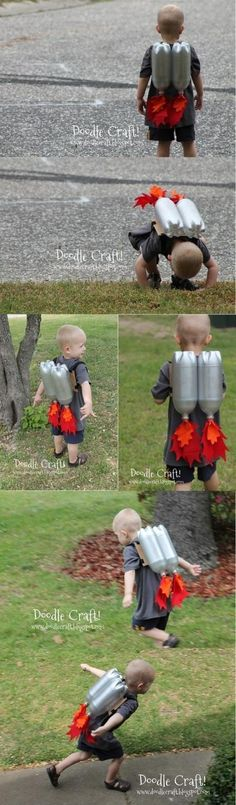 Kids rocket costume Halloween