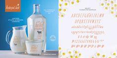 Typografie auf Verpackungen und Bedruckungen: Erstellt mit der Schrift Bookeyed Jack von Crystal Kluge und Stuart Sandler